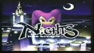 NiGHTS TV spot SEGA SATURN
